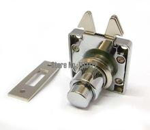 Cabinet Mortise lock Cabinet Furniture Drawer lock with push button Cabinet lock with hook cam 5 PC