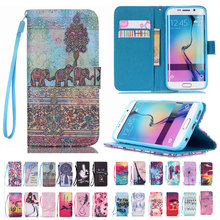 Buy Wallet Stand Flip Leather Cover Samsung Galaxy Note 5 S6 edge Plus S5 S4 S3 mini Credit Card Holder Protective Case Cuero for $2.23 in AliExpress store
