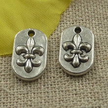 240 pieces tibetan silver nice charms 14x9x2mm #4412