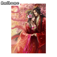 NEW 5D DIY Diamond Painting Allure Of Love Crystal Diamond Painting Cross Stitch Unfinished Needlework Home Decorative HF482
