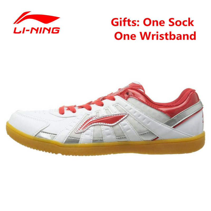 Li-Ning Mens Indoor Training Shoes for Badminton Cushioning Anti-Slippery Athletic Sneaker Hard-Wearing Mans Table Tennis Shoe<br>