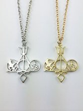 Fashion Jewelry Movie Charm Mix The Mortal Instruments Hunger Games Divergent Necklace For Collection(China)