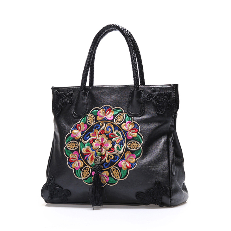 black white blue red pink ladies chinese national embroidery flowers floral style womens handbags shoulder casual tote bags<br><br>Aliexpress