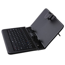 "Wholesale Universal Tablet 7"" keyboard case With Micro USB Keyboard Stylus Pen,7 inch Q88 a13 keyboard with various color(China)"