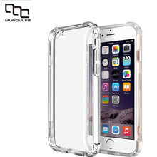 Shockproof Crystal Soft TPU Cover for Iphone 6 plus Case Clear Slim Silicone Capa 7 7 plus Coque For iphone 6s plus Cases Fund