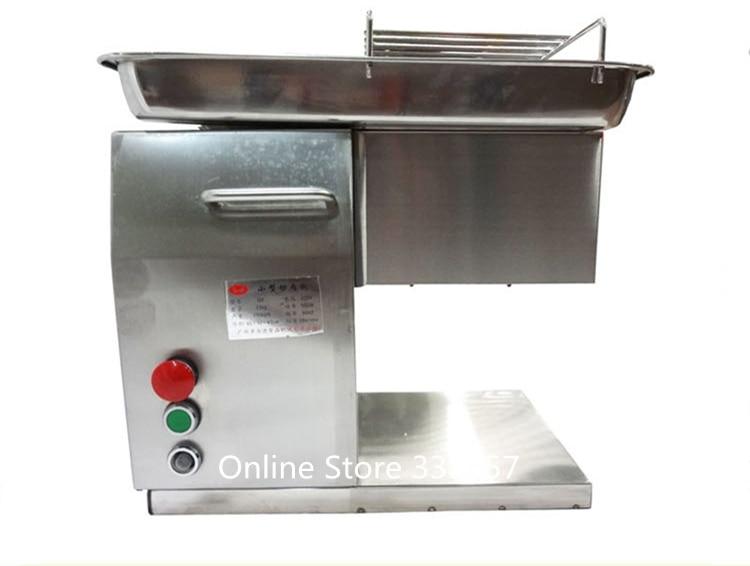 250Kg Hour Stainless Steel Meat Cutting Machine Restaurant Cutting Kitchen