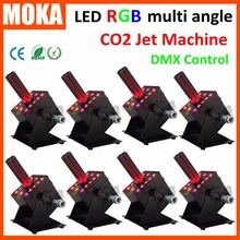 8pcs/lot 250W DMX Control LED CO2 Jet Stage Led CO2 Equipment with DJ Light Force Fx Co2 Jet(China)
