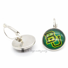 NCAA Baylor Bears Basketball Earings French Leverback Earrings for Women GE0127(China)