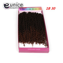 Crochet braid hair savana hair extensions Jerry curl,deep wave 3x braid braiding hair freetress crochet bella eunice hair marley