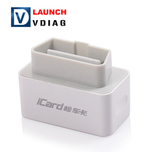Free Shipping LAUNCH ICARD code reader iCard OBDII EOBD Orginal LAUNCH ICARD Code scanner with OBDII EOBD for Android Phone(China)