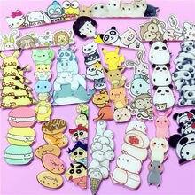 1Pcs Cute Harajuku Animal Pokemon Pikachu Rabbit Panda Acrylic Brooch Clothes Badge Backpack Icon Brooches Pins Kids Gift(China)