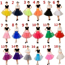 2017 A-Line Short Petticoat Colorful Short Underskirt Knee Length Bridal Tulle Petticoats For Wedding Dress Hot sale Petticoat(China)
