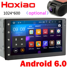 Android Quad Core 16G Car GPS android 6.0 Player 2 din radio New universal Navigation For Nissan series Wifi GPS 2DIN AUTO(China)