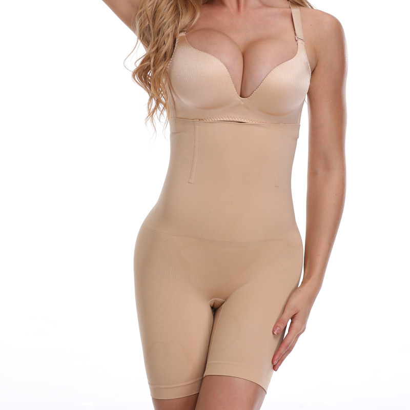 NINGMI Slimming Pants Women High Waist Trainer Tummy Control Panties Thigh Butt Lifter Slim Leg Hot Body Shaper Firm Power Short 14