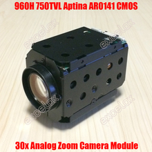 "960H D1 700TVL Analog 18x 30x Optical Motorized 1/4"" Aptina CMOS CCTV Zoom Camera Module IR CUT Auto Focus for PTZ Speed Dome"