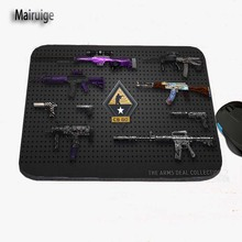 Mairuige CSGO Game Weapons And Equipment To Print Custom Antiskid Computer Desk Rubber Mouse Pad Table Mat Can Be Used As A Gift(China)