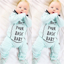 2016 New Arrival Autumn Winter Baby Boy Girl Clothes Warm Infant Romper Jumpsuit Cotton Clothes Outfits(China)