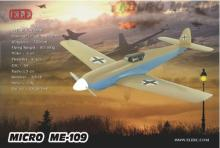 RC Plane Micro EPO Airplane  World War II Plane ME109 Model Wingspan 470mm