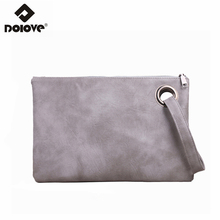 DOLOVE 2017 New Hand Capture Simple Retro Fashion Women Bag Company Capacity Handbag Women Messenger Bags(China)