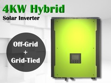 Hybrid solar inverter 4kw with battery back up Hybrid 4kw solar on grid and off grid inverter parallel-able