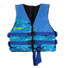 Children Kids Lifesaving Life Jacket Aid Flotation Device Survival Jacket Boating Surfing Vest Swimming Life Jackets Safety Suit(China)