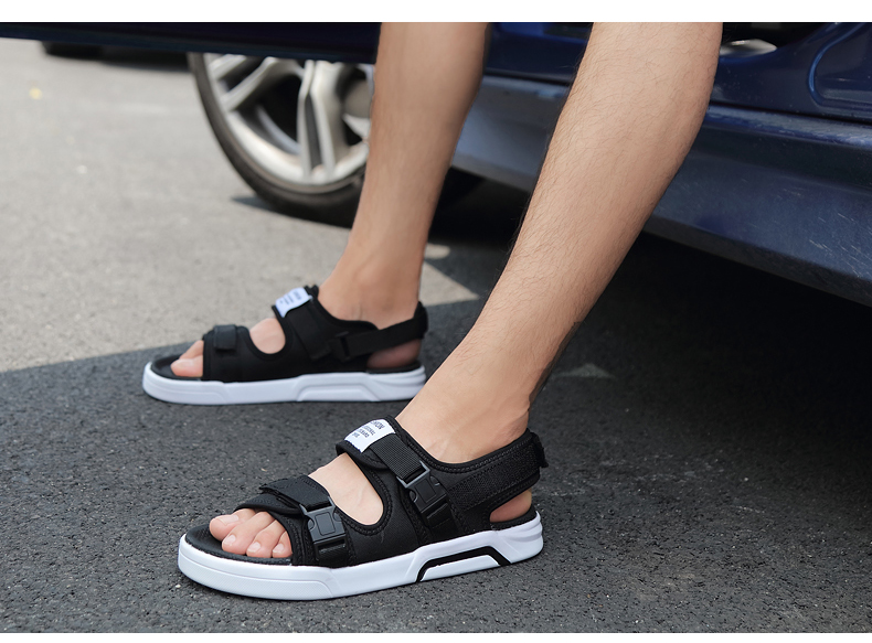 YRRFUOT Summer Big Size Fashion Men's Sandals Outdoor Hot Sale Trend Man Beach Shoes High Quality Non-slip Adult Flats Shoes 46 23 Online shopping Bangladesh