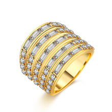 ZR477-A-8 New Fashion Women Gold Color Finger Rings Jewelry Hot Selling Lady's Popular Bijoux Items(China)
