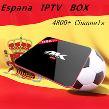 Buy Spainsh IPTV Arabic IPTV H96 Pro S912 Android 7.1 TV box LiveTV Iptv French Arabic Iptv Smart tv Box Portugal Sport Media Player for $102.40 in AliExpress store