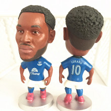 Soccerwe Stand 10 Lukaku Soccer Doll ( Everton 15-16 ) Blue(China)