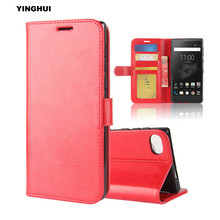 "YINGHUI Luxury Wallet Pouch Phone Case for Blackberry Motion Vintage Crazy Horse Leather Bag Protect Flip Stand Shell Cover 5.5""(China)"