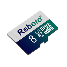 Reboto Customized Memory card Blue Micro SD card 4GB 8GB Green TF card For Gift Pen drive flash card for Smartphone(China)