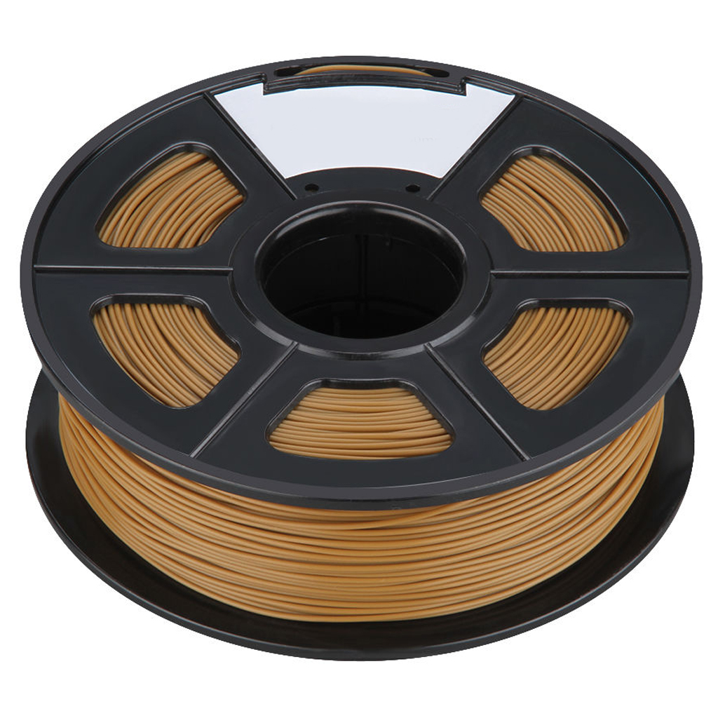 3D Filament 3.0mm PLA for Print RepRap MarkerBot Rapman 1kg/2.2lbs, Chocolate<br>