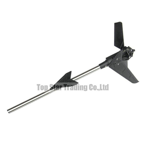 RC Helicopter Spare Parts MJX F49 F649 Whole Tail Unit<br><br>Aliexpress