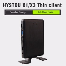 Hystou Thin Client computer X1 All winner A20 dual-core 1.2 Ghz RDP 7.1 X3 All winner A9 dual-core embedded computing linux os