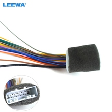 LEEWA 20Pin Car Audio Stereo Wiring Harness Adapter For Nissan/Subaru/Infiniti Install Aftermarket CD/DVD Stereo #CA2938(China)