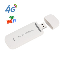 Free Shipping! Unlocked 4G 3G USB WIFI modem FDD LTE 4G WiFi Router Wireless USB Network Hotspot dongle with SIM Card