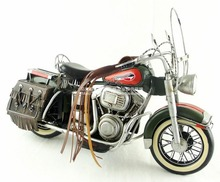 Free Shipping Handmade Iron Antique Motorcycle Model 1981