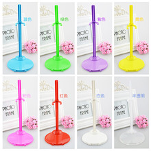 21.5cm Dolls ToyHolder Display  Support for Plastic Doll Dress Clothes Showing Hangers Stand Accessories