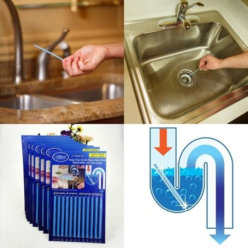 12Pcs/set Sticks sewage decontamination deodorant kitchen