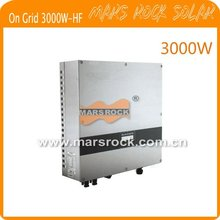 3000w solar inverter,  on grid, with 1 MPPT, high frequency transformer, waterproof IP65
