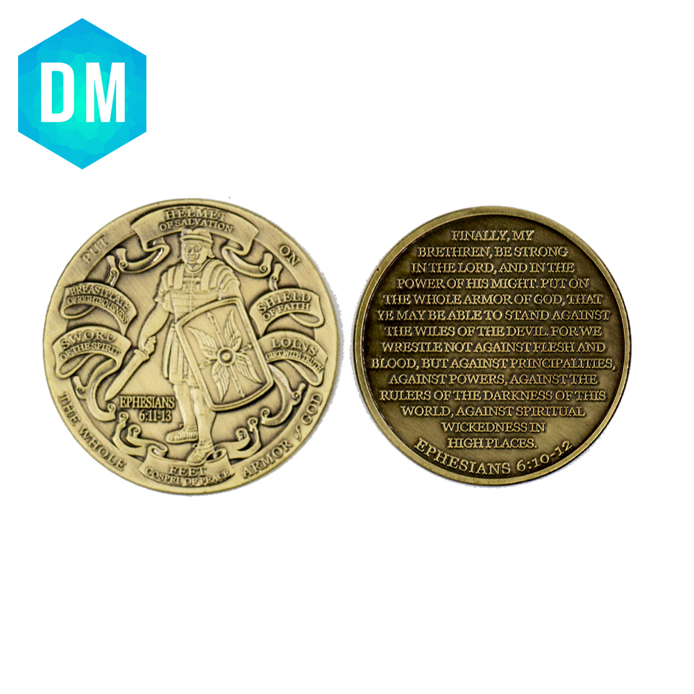 Creative Bronze Coin Quality American Army Coin The Whole Ephestans 6,11-13 Commemorative Coins Value Collection(China)