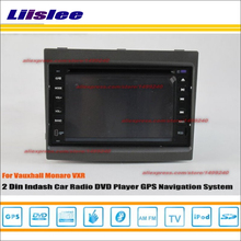 Liislee For Vauxhall Monaro VXR 2004~2007 Radio CD DVD Player GPS Navi Navigation System Double Din Car Audio Installation Set(China)