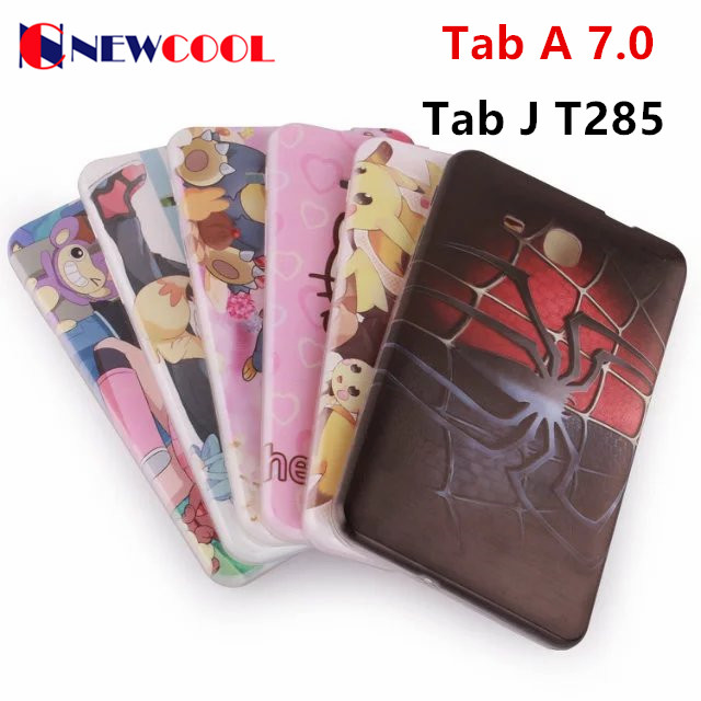 For Samsung Galaxy Tab A 7.0 (2016) T280 Tablet Case Cover Colorful Cute Soft TPU Back Cover Case For Tab J 7.0 T285DY<br><br>Aliexpress