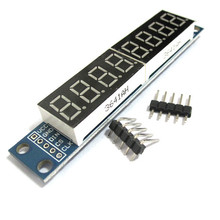 1pcs/LOT,  MAX7219 Led Module 8-Digit 7 Segment Digital LED Display Tube MCU