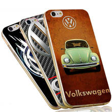 Luxury Cool VOLKSWAGEN VW Mini Bus Soft TPU Silicone Phone Case for iPhone 7 6 6S Plus 5 SE 5S Cover