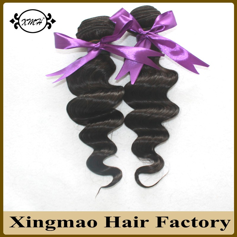 Natural Black Peruvian Virgin Hair Weave 100g Loose Wave Curly Hair Extension 8A Hotsale Virgin Human Peruvian Hair Machine Weft<br><br>Aliexpress