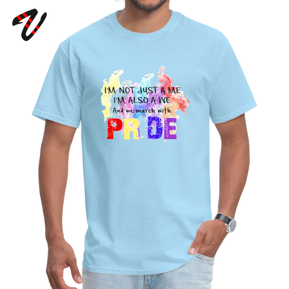 Fashionable Be Proud. Casual Short Sleeve Labor Day Tops T Shirt Newest Round Neck Cotton Fabric Sweatshirts Male Tshirts Be Proud. 238 light