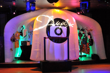 Hot Fun Lighting Inflatable Photo Booth with LED Light