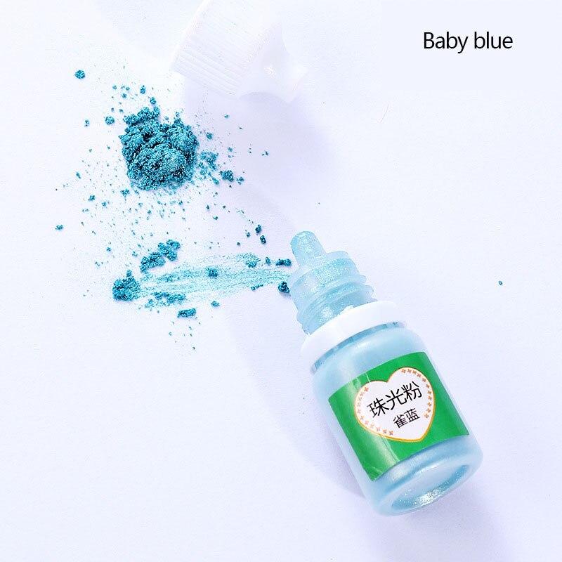 Handwerk Pigment Gel Perlglanz Glimmer UV Harz Epoxy DIY Pulver Handwerk Zubehör