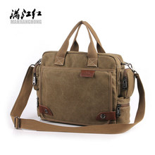 Buy New Design! Bavi fashion canvas bag, male casual shoulder bags, men messenger bag, high canvas laptop briefcase for $22.49 in AliExpress store